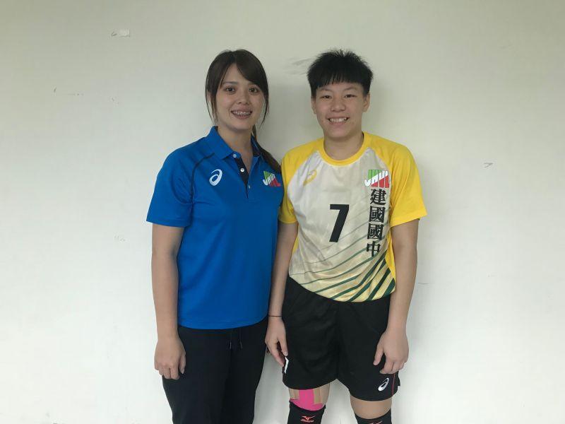 105JHVL / 不放手的排球夢 建國國中謝靖瑩