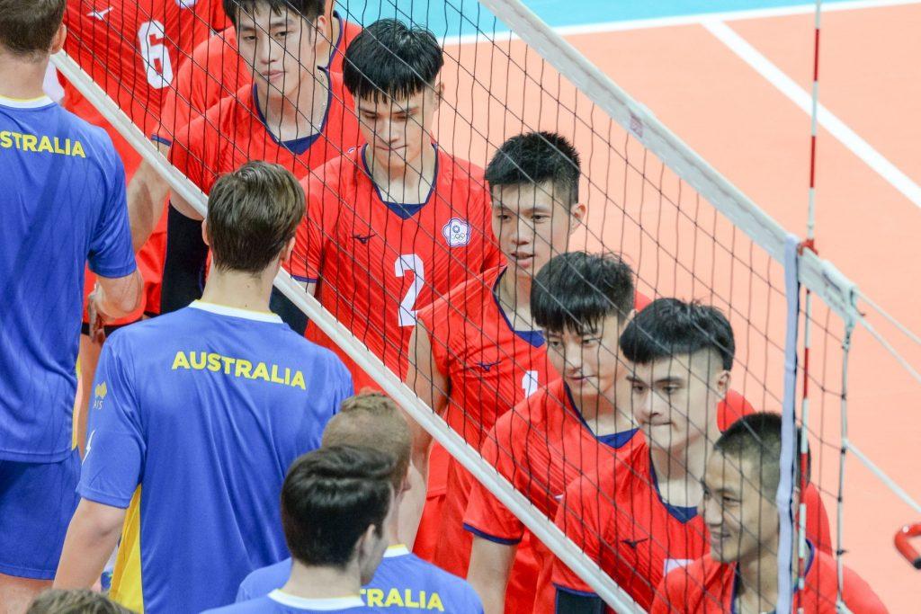 亞洲盃倒數兩天 中華男排友誼賽勝澳洲