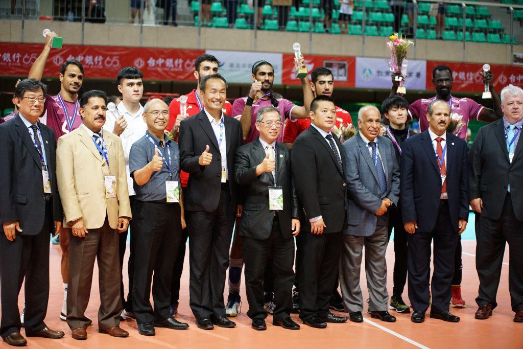 2018 第六屆亞洲盃男排賽 – 排名與最佳陣容