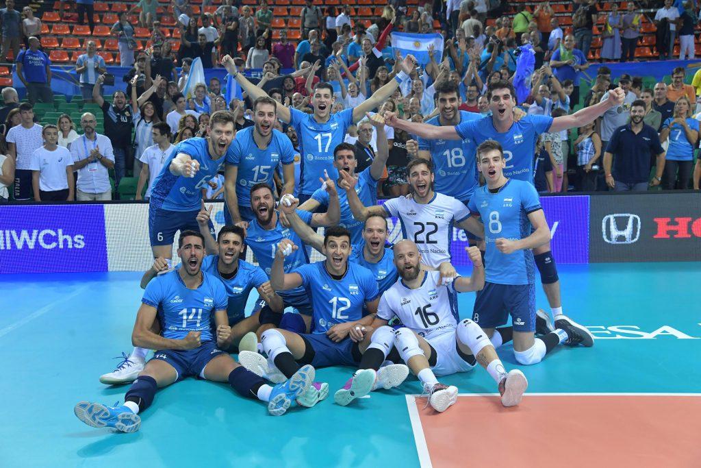 男排世錦 / 阿根廷五局擊敗斯洛維尼亞拱義上A組龍頭,日與阿今爭二輪最後門票