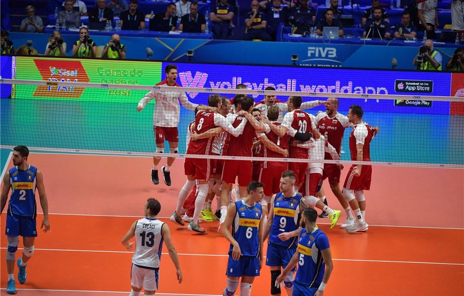 男排世錦 / 第一局贏了就晉級,波蘭順利進入四強