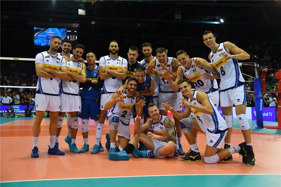 男排世錦 / 義大利四連勝,明與斯洛維尼亞爭分組第一