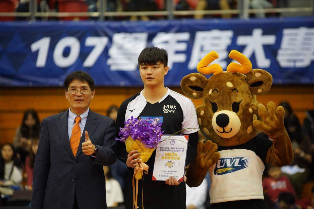 UVL / 107學年度大專排球聯賽名次與個人獎項