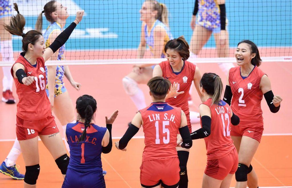 亞俱 / 局點遭逆轉 中華女排首戰不敵哈薩克