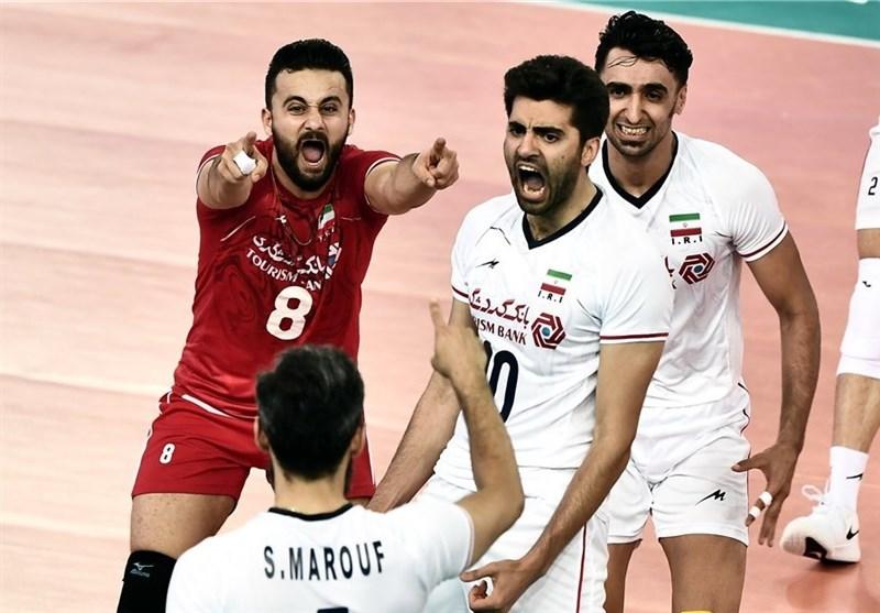 VNL-W1 / 伊朗男排暫排第一,澳球員破單場ACE球紀錄