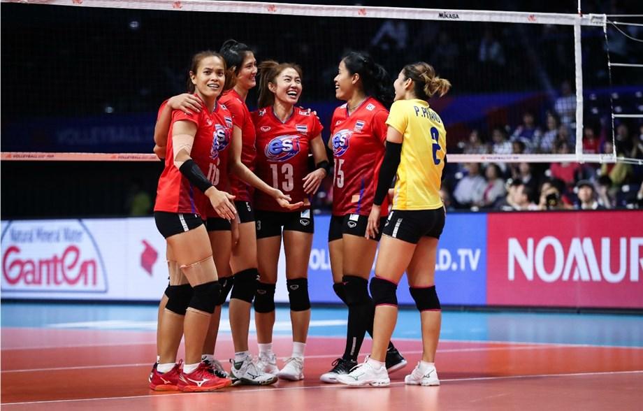 VNL-女排W4賽果/義爬榜首 泰爆冷挫塞爾維亞