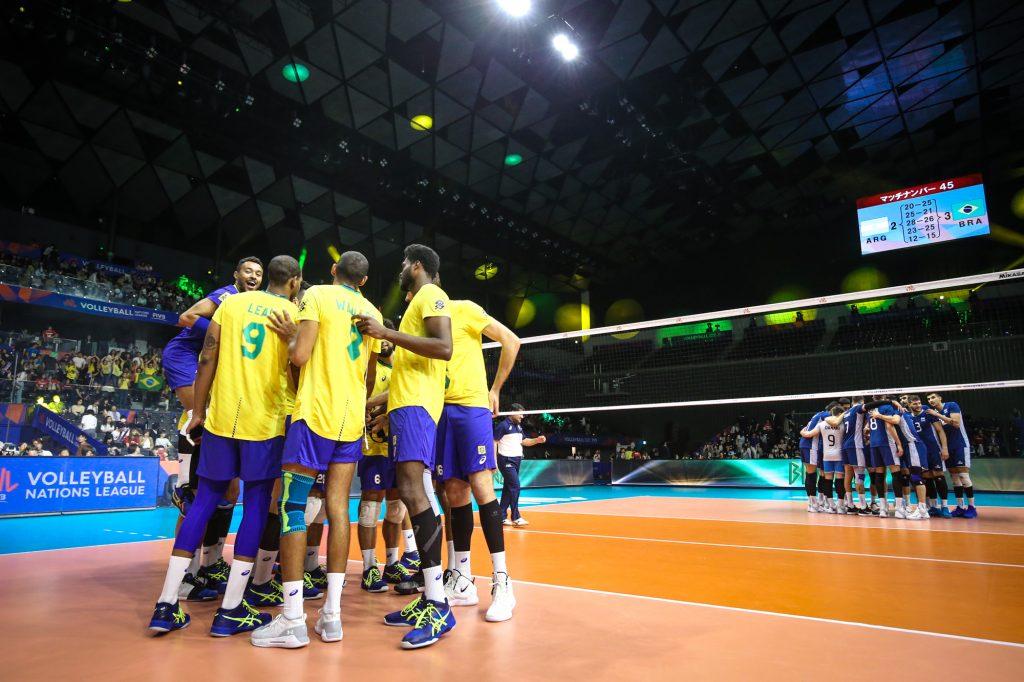 VNL-男排W2賽果/巴西唯一不敗,保加利亞讓二追三勝法國
