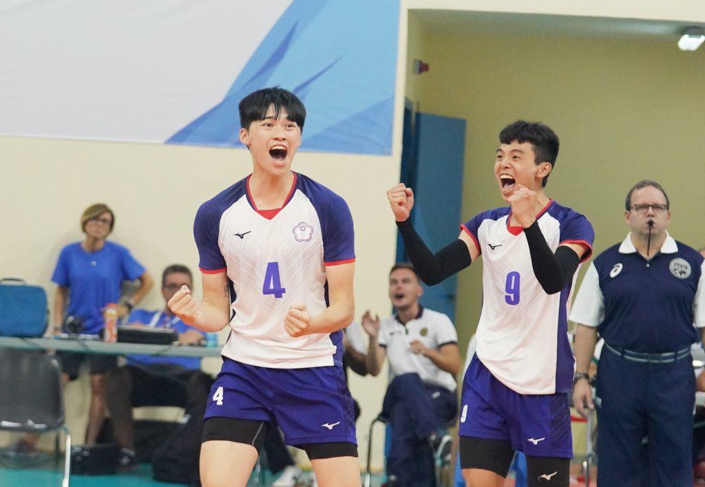 【世大運】中華男排進八強 陳政錡:只有我們是亞洲隊伍很開心