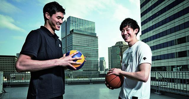 日本新時代王牌,渡邊雄太與石川祐希對談