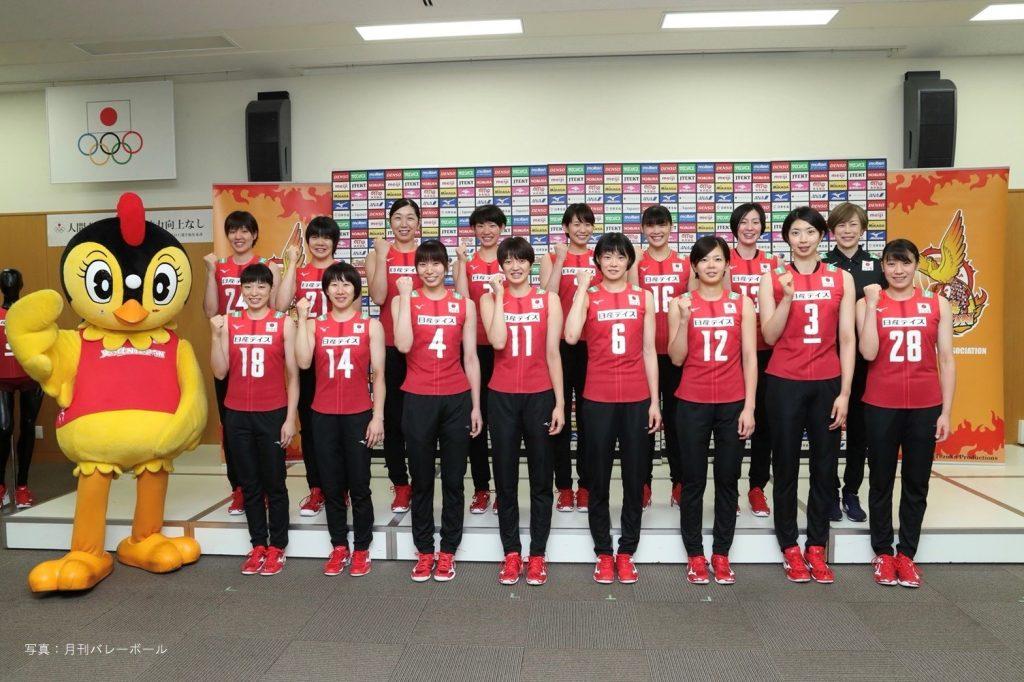 日本女排世界盃前記者會,石川真佑首次入選A隊