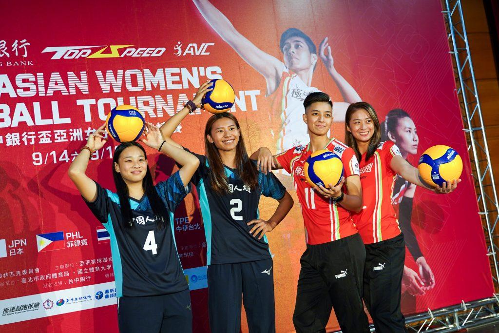 超跑、中纖新陣容 亞洲女排邀請賽首亮相