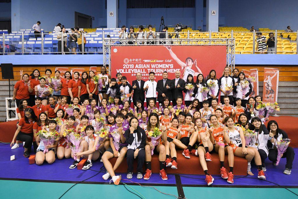 日本Denso四戰全勝 亞洲女排邀請賽封后