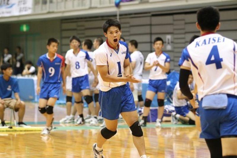 日本V聯賽單場32分的怪物高三生-西田有志
