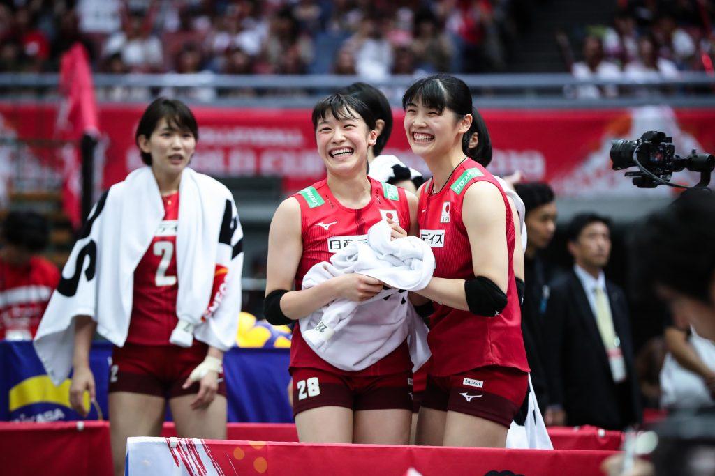 與橄欖球代表互相砥礪,日本女排世界盃第五作收