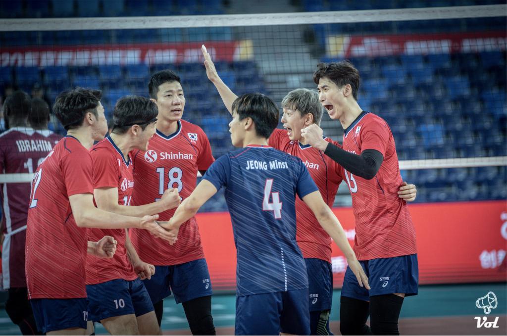 東奧資格賽 / 男排四強出爐,韓國五局勝卡達擠下澳洲