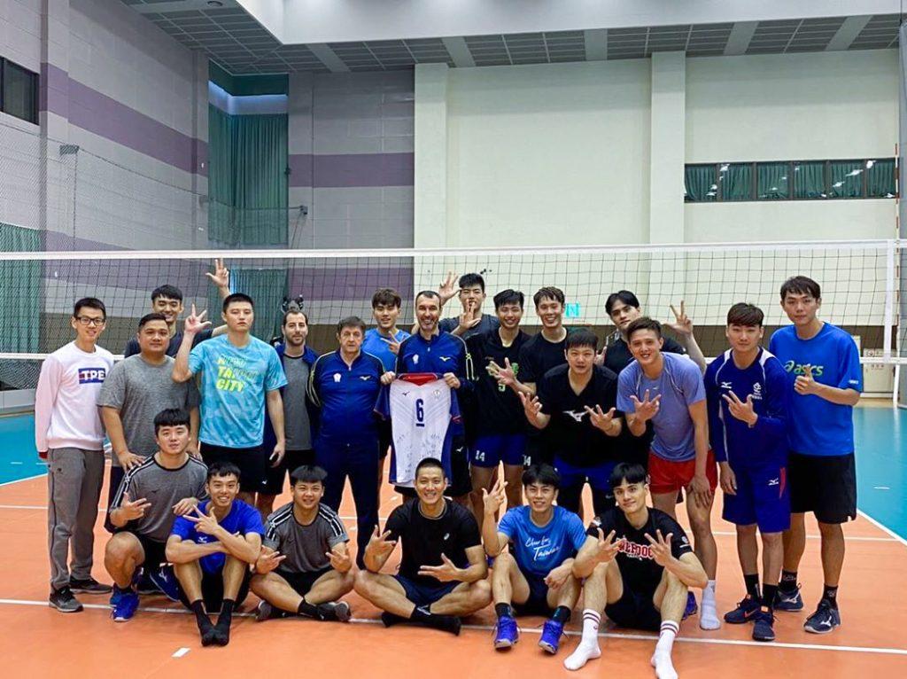 東奧亞洲資格賽,中華男女排14人名單公佈