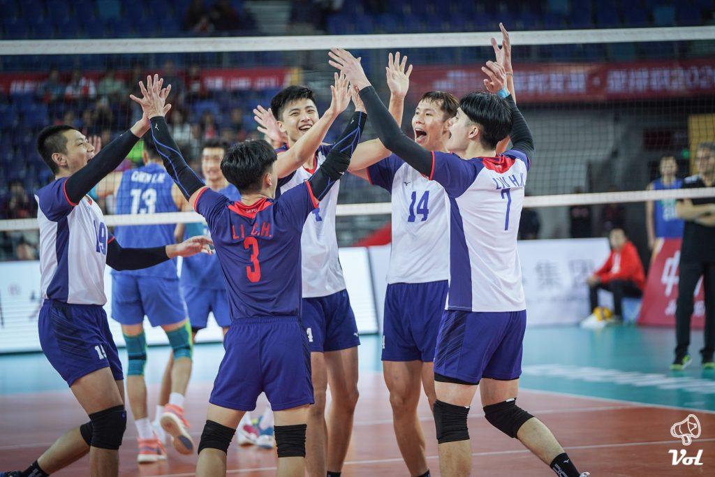 最新亞洲排名,中華女排第六男排第七