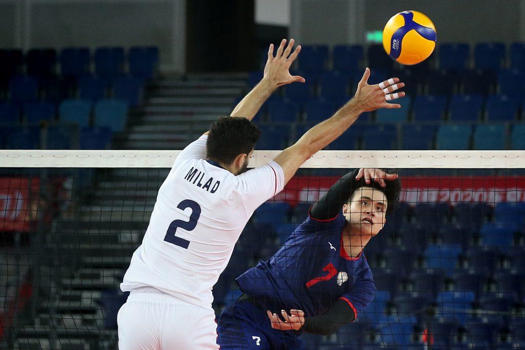 東奧資格賽 / 首戰不敵強敵伊朗,戴儒謙:接發球需再加強