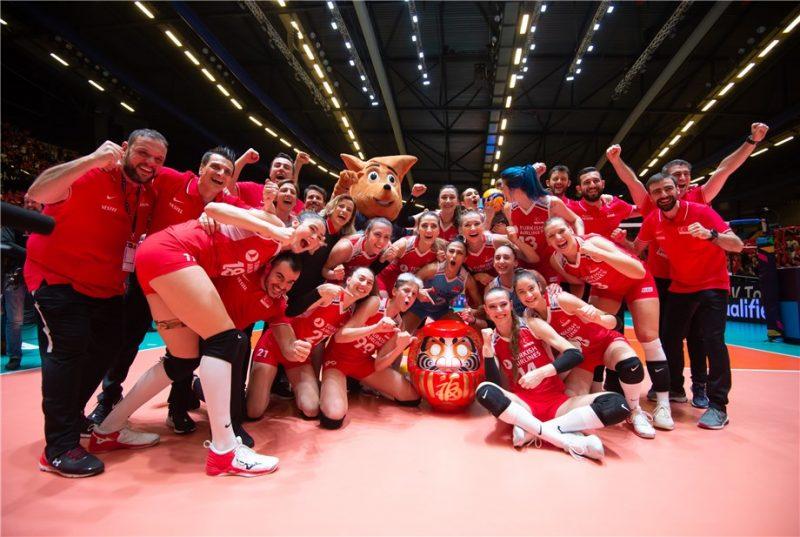 東奧資格賽 / 土耳其女排對德復仇成功獲奧運門票