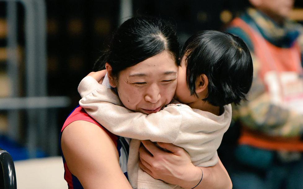 女兒說:可以跟媽媽在一起很開心﹗荒木媽媽的東京奧運挑戰
