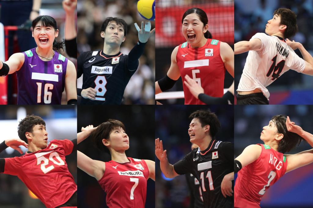 日本男女排8/2紅白對抗 長岡望悠時隔兩年國家隊亮相