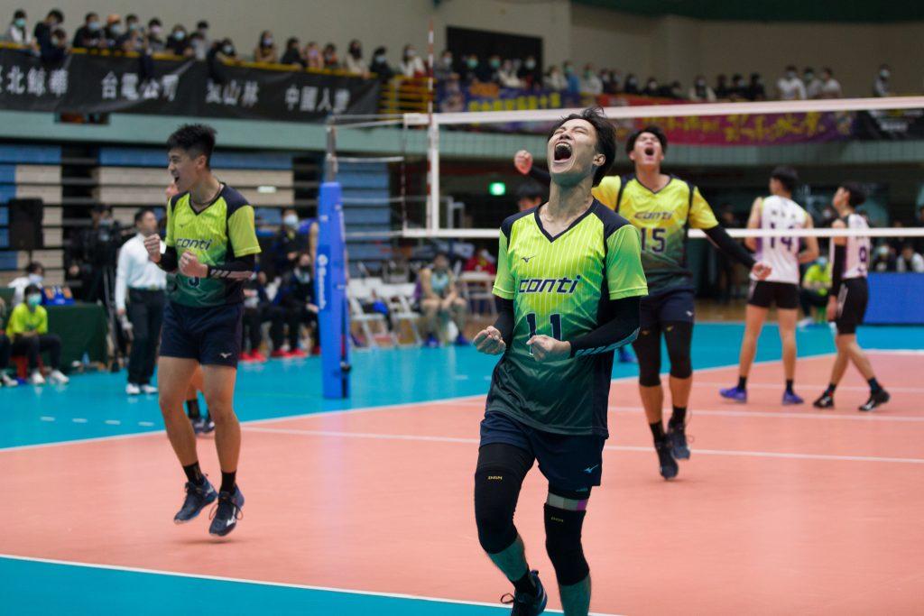 企排》conti 五局逆轉首勝長力 台電蟬聯7年例行賽冠軍