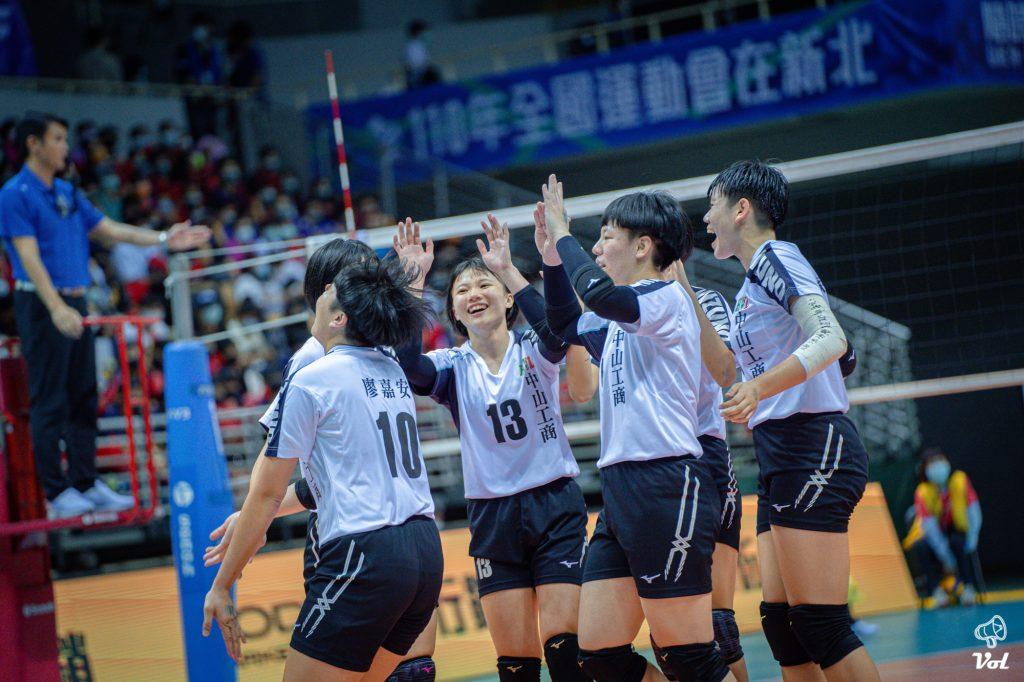 109HVL》中山工商二連霸,陳映淳教練:想給所有選手MVP