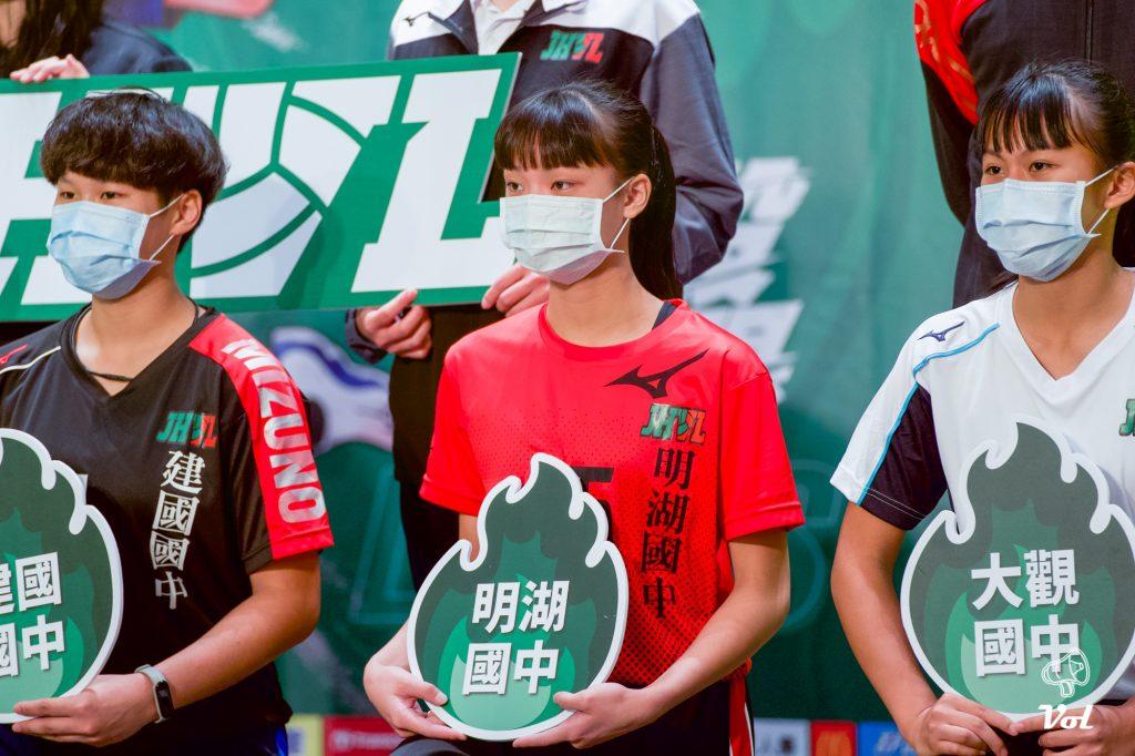 109JHVL》國中聯賽明開戰,明湖李思依:決心打入冠軍戰!