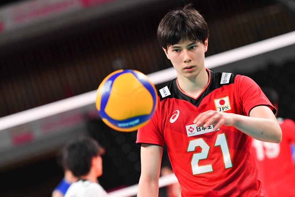 日本》「龍神Nippon」19歲新星高橋藍,小學就立下奧運夢