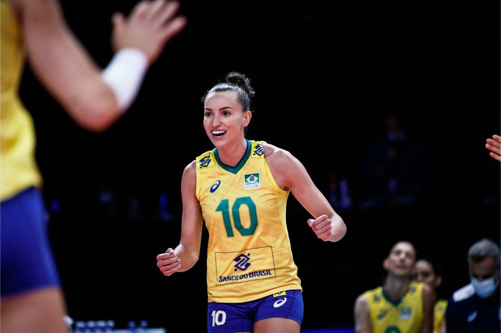 VNL》巴西女排「大輪臂」主攻Gabi 攻守俱佳、爆發力突破身高限制