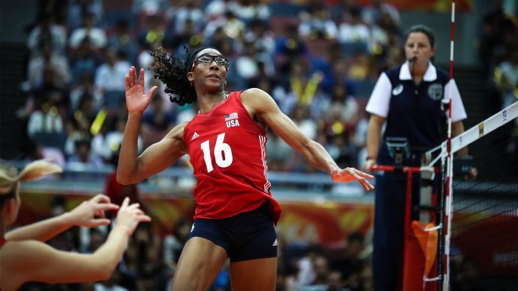 VNL》是母親也能是職業運動員,美國女將Foluke Akinradewo產後復出拼奧運金夢