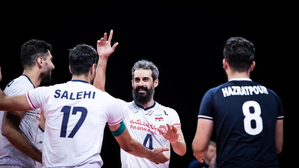 VNL》俄冠軍教練與傳奇舉球Marouf領軍,伊朗男排奧運蓄勢待發