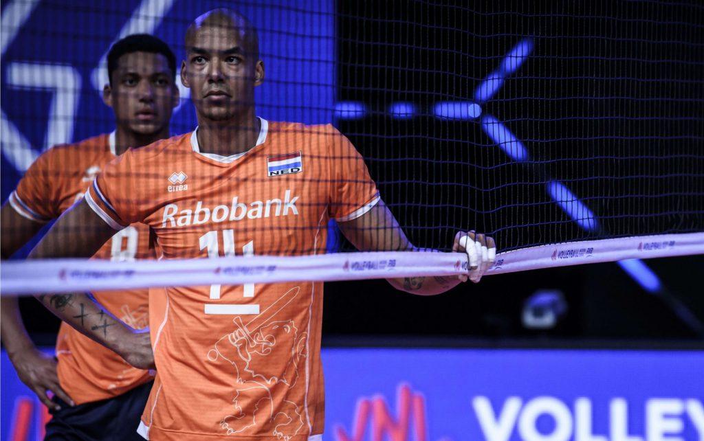 VNL》荷蘭舉對 Nimir Abdel – Aziz ,王牌舉球轉王牌攻擊手續寫傳奇