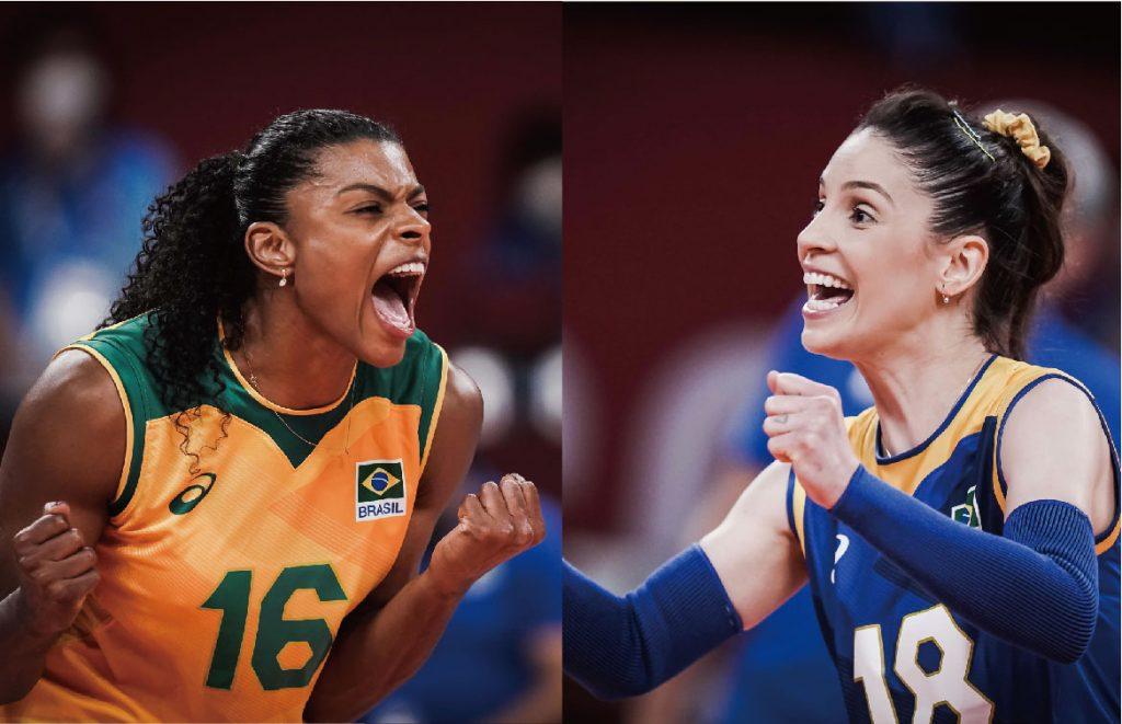 東奧奪銀後,巴西女排Fe Garay、Camila Brait 宣布告別國家隊