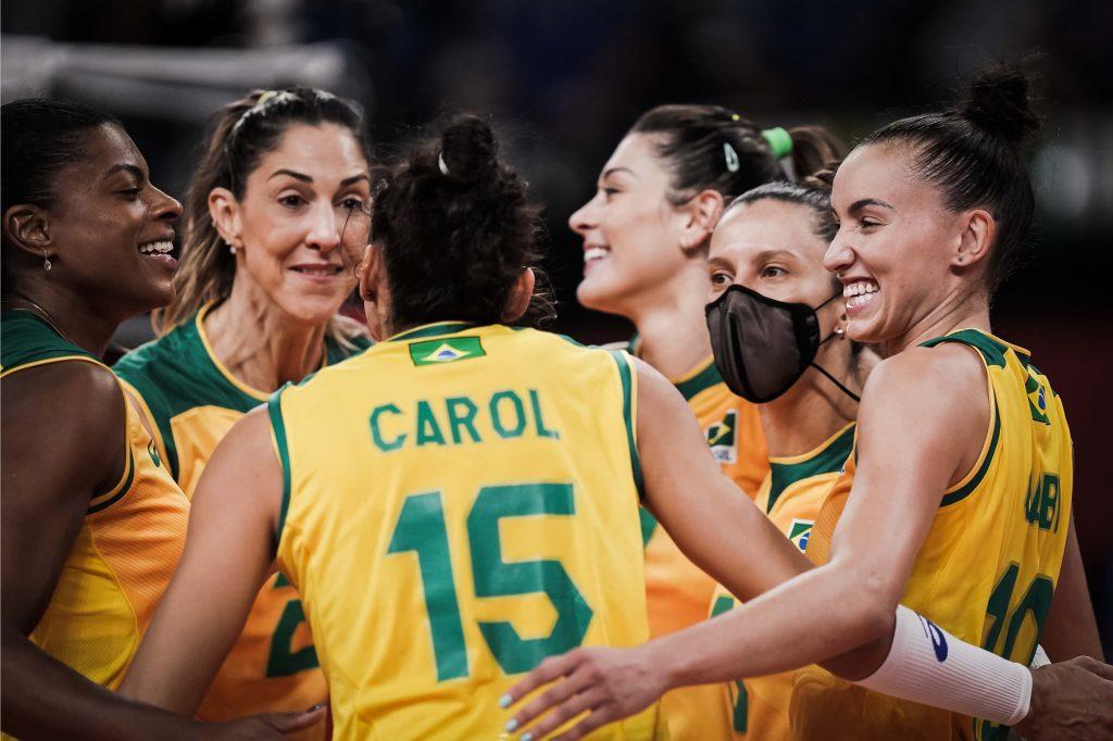 東奧》唯一目標只有金牌!美國、巴西女排周日爭冠!