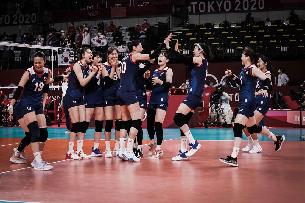 東奧》金軟景率韓國女排力退土耳其 第一面奧運獎牌的夢想仍在持續