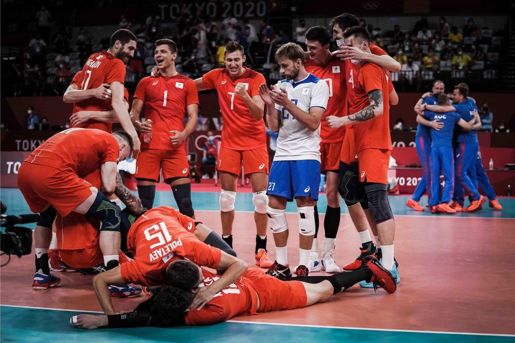 東奧》「沒什麼能阻止我們贏得比賽!」 俄羅斯男排粉碎巴西連霸夢重返冠軍賽!