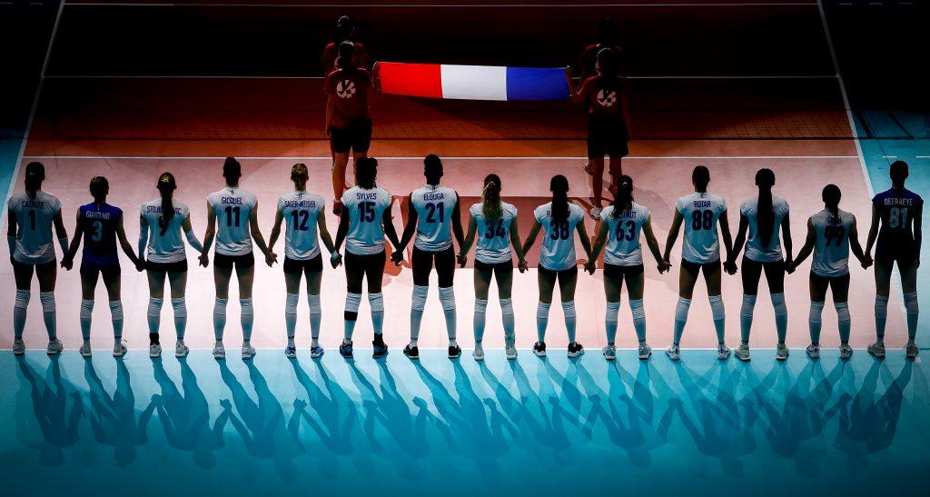 歐錦女排》鋒迴路轉法國女排睽違八年重返八強「展現英勇的三色旗」